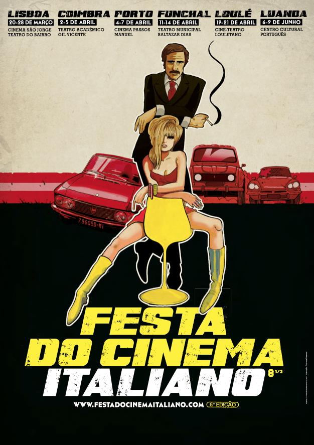 Festa do Cinema Italiano 2013 - cartaz