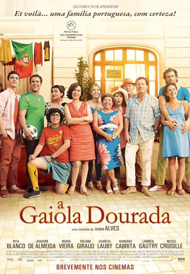 """""""A Gaiola Dourada"""" (2013) - poster 1"""