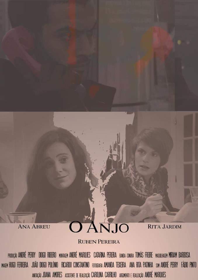 """""""O Anjo"""" de André Marques - Poster"""