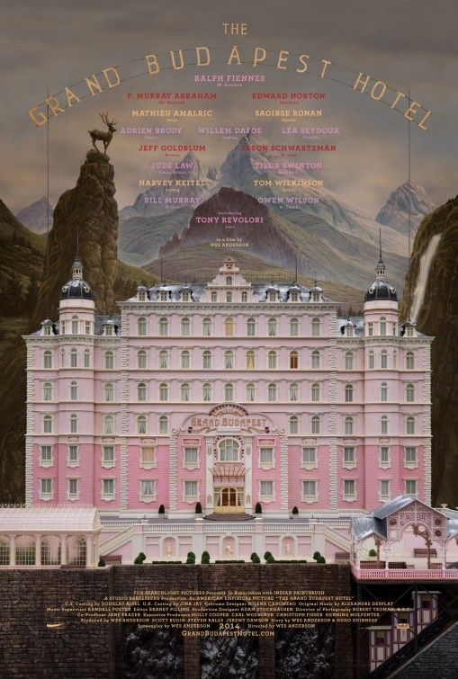 """The Grand Budapest Hotel"" (2014)_poster"