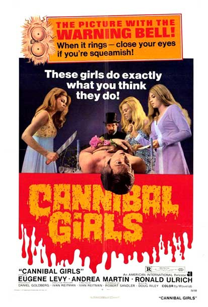 02 - Cannibal Girls Poster