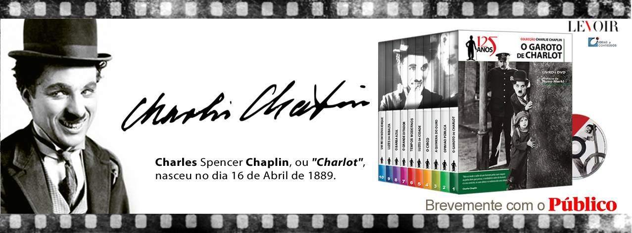 """Público lança Colecção """"Charlie Chaplin 125 Anos""""_1"""