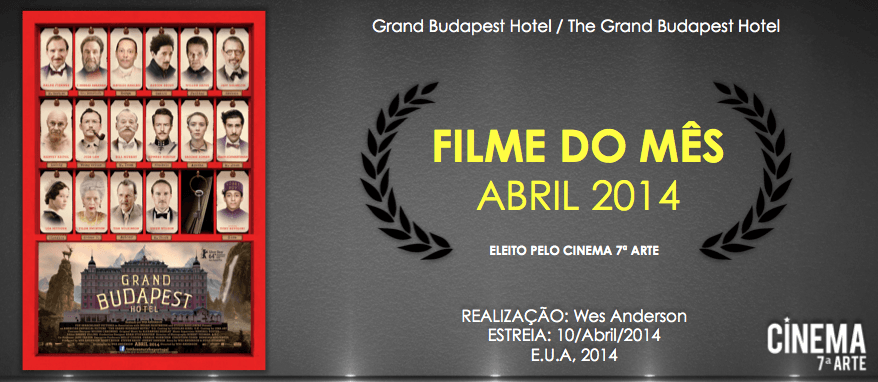 Filmes do Mes - Abril 2014
