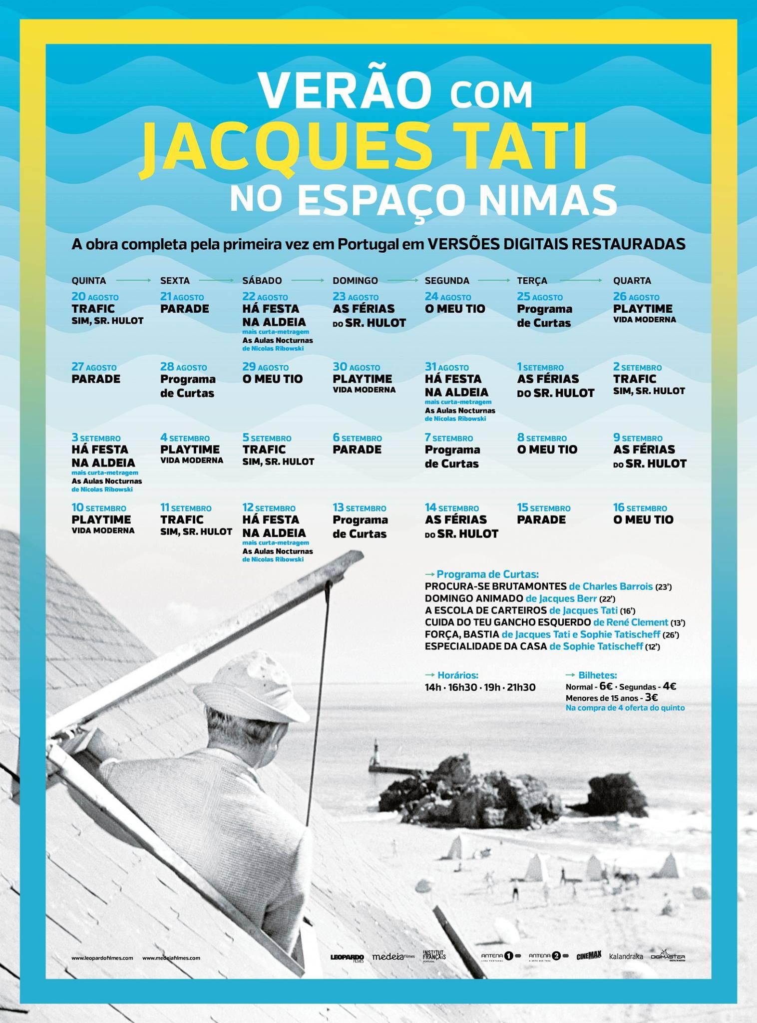 """Ciclo """"Verão com Jacques Tati""""_2"""