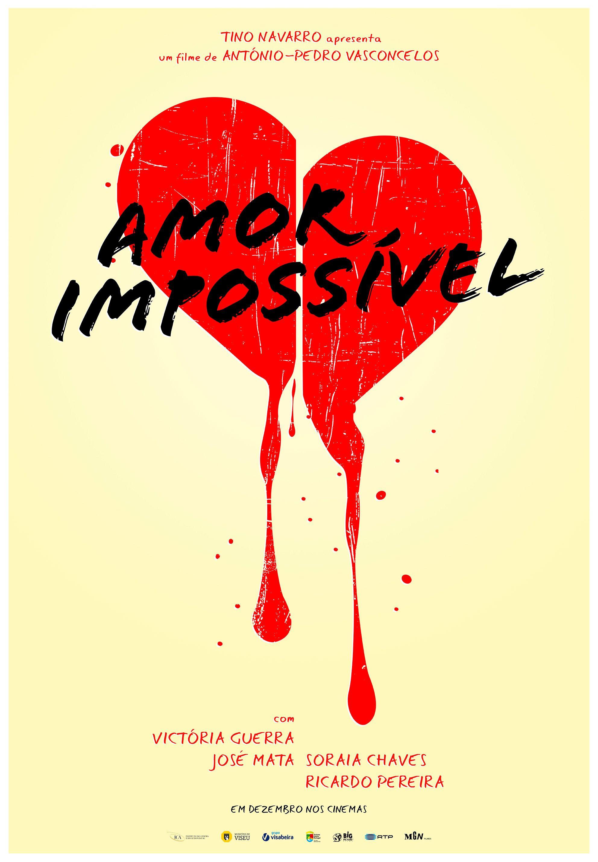 """""""Amor Impossível"""" (2015)_cartaz"""
