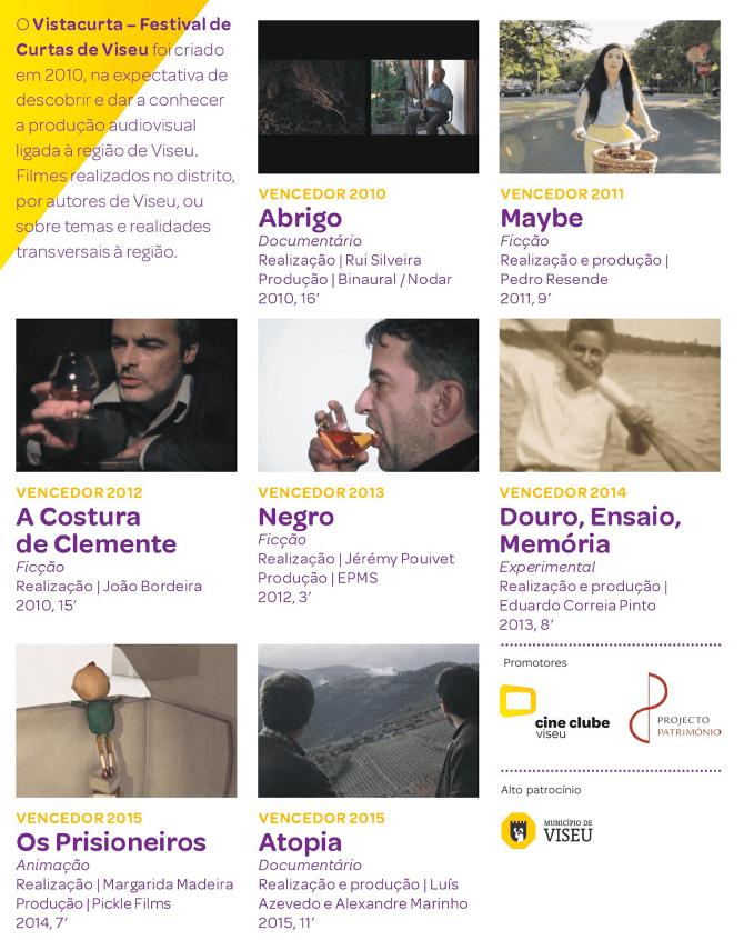 Cine Clube de Viseu lança DVD com vencedores do VISTACURTA_2