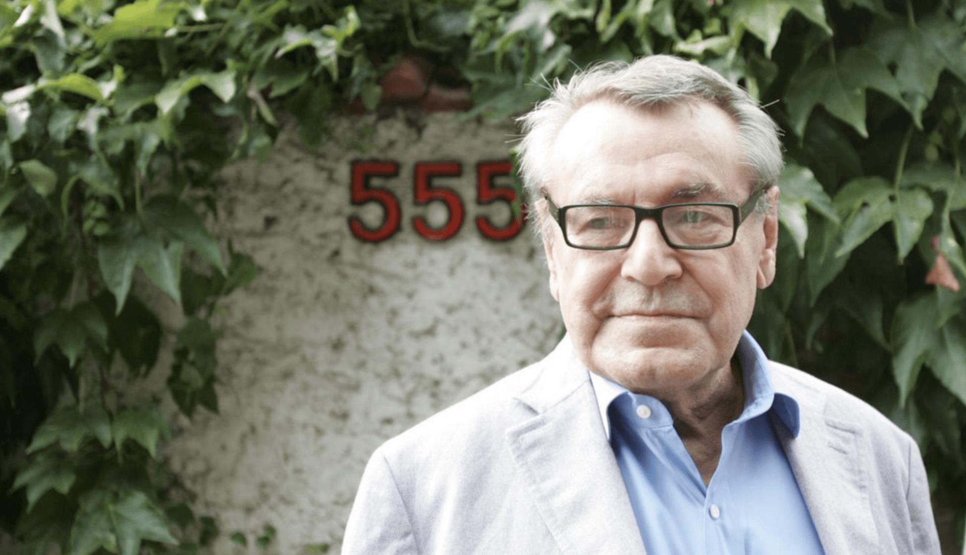 Morre o diretor de cinema Milos Forman, aos 86 anos